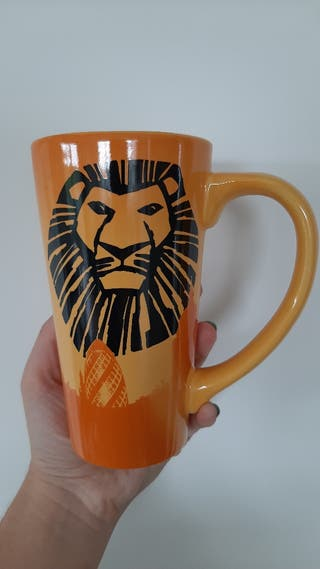 Lion King London mug