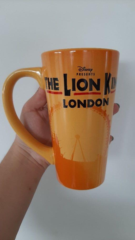 Lion King London mug