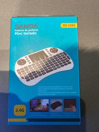 Mini teclado wifi