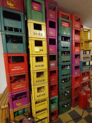 Lote de cajas antiguas serigrafiadas