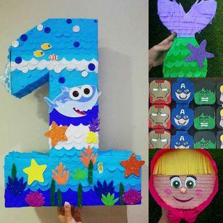Piñatas para niños y adultos