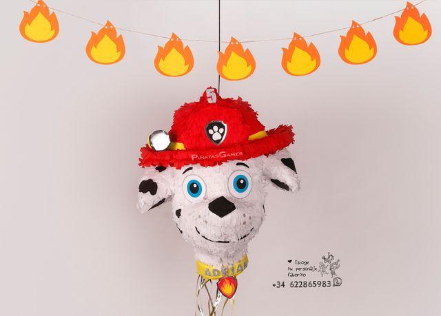 Piñata Marshall patrulla canina