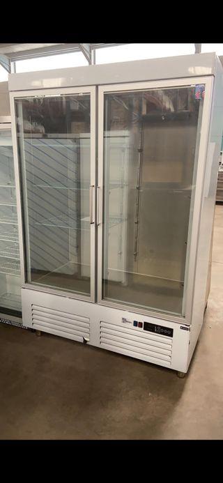 Armario frigorífico puertas cristal