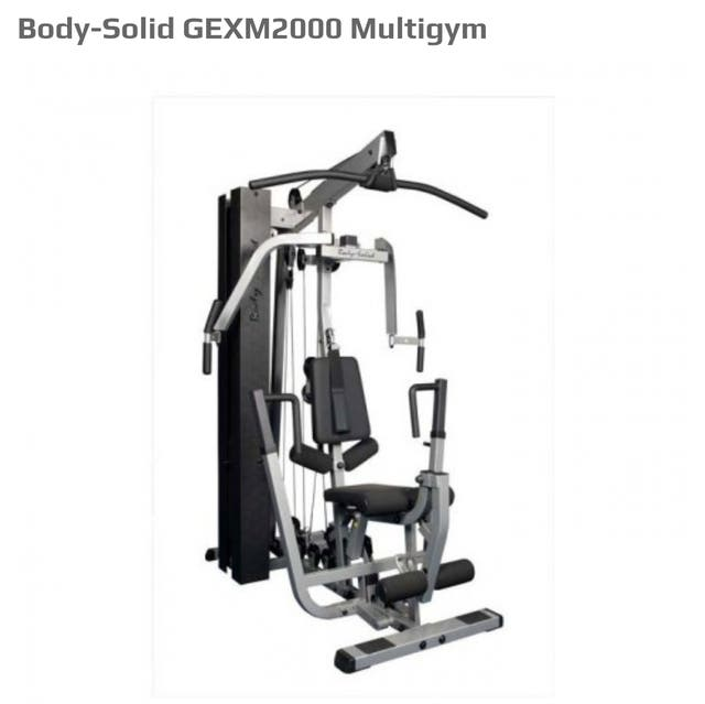 Body Solid GEXM2000 Compact multigym & Leg press