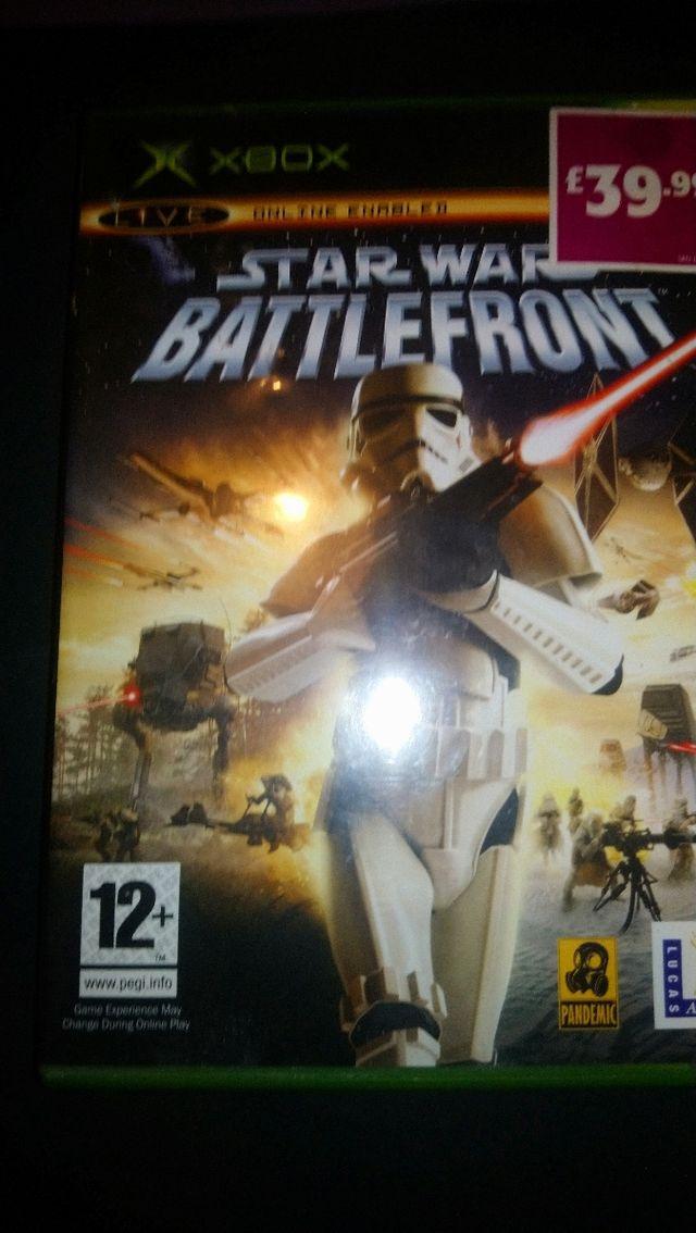 Star Wars Battlefront Xbox Uk Completo