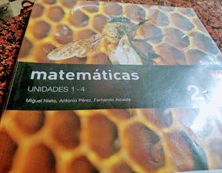 LIBROS MATEMÁTICAS 2° ESO