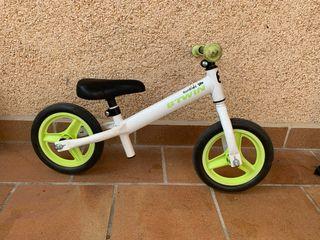 """Bici infantil sin pedales - 10"""""""