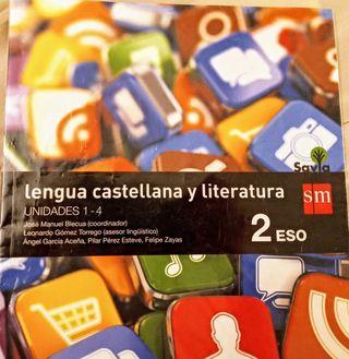 LIBROS LENGUA Y LITERATURA 2° ESO