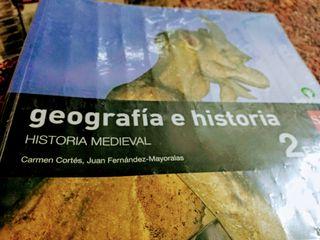 LIBRO GEOGRAFÍA E HISTORIA 2° ESO
