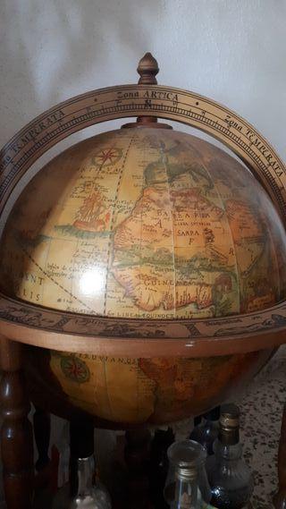 Mueble de bar bola del mundo