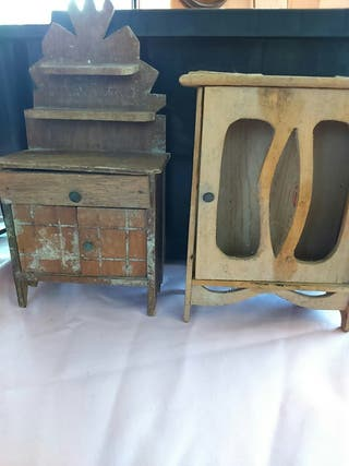 antiguos muebles juguete