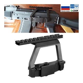 Soporte de mira lateral sobre riel 20 mm AK 74M-U