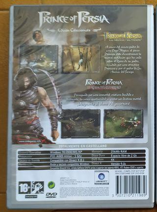 Juego Prince of Persia para PC