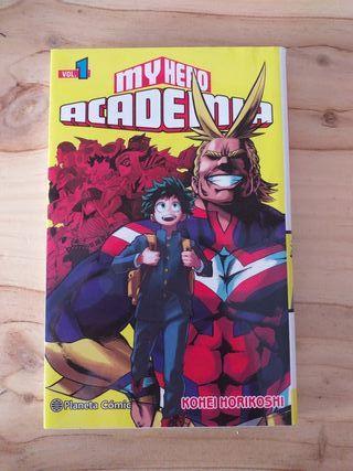 Manga - My hero Academia vol.1