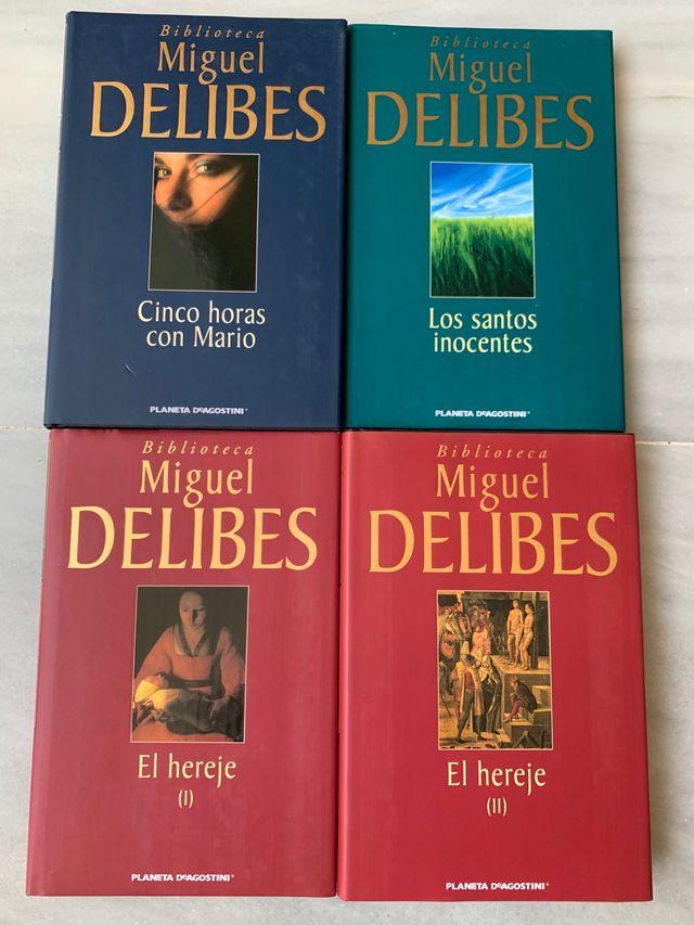 Libros de Miguel Delibes
