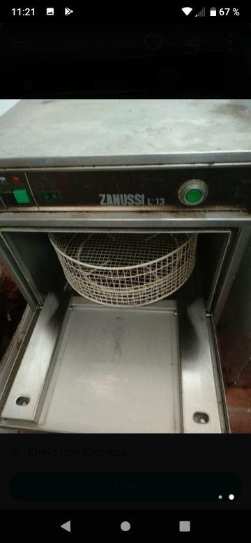 lavavajillas de bar zanussi