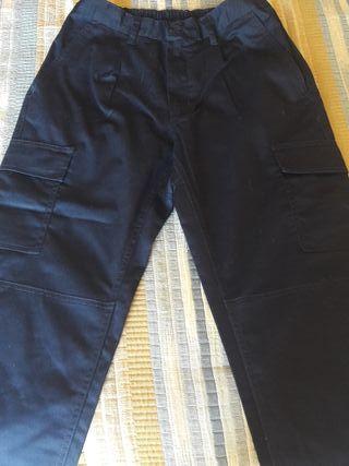Pantaló blau mari feina