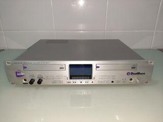 Cd grabador doble profesional HHB CDR-882
