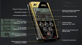 Detector de metales XP ORX