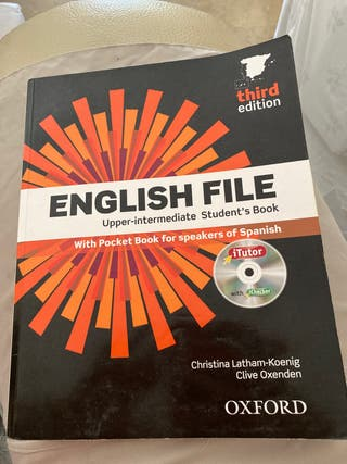 Libros Upper intermediate English (Oxford)