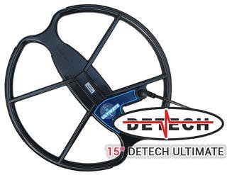 "Platos DETECH ULTIMATE 15"" detector de metales"