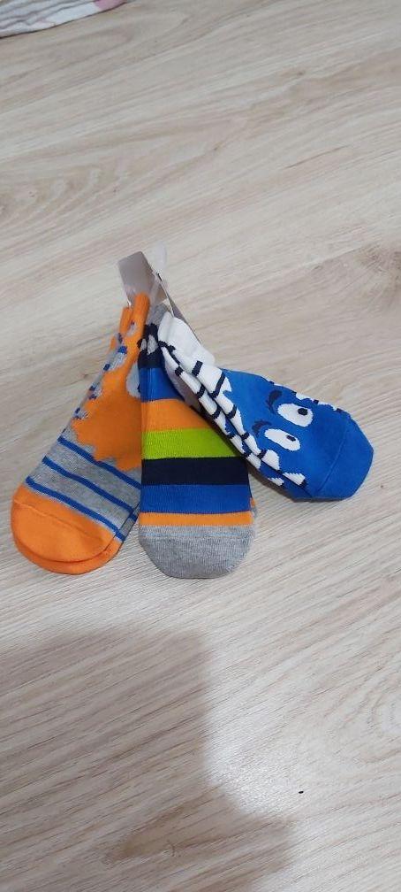NUEVO, pack 3 calcetines GAP t.8años monster