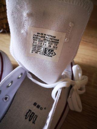 zapatillas converse mujer talla 38
