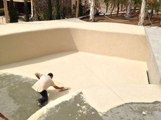 piscinas arena construccion