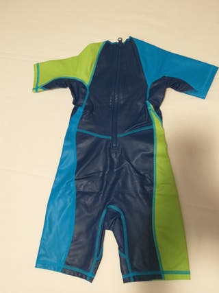 bañador traje neopreno natación niño