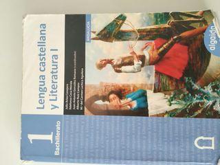 Libro Lengua castellana y literatura 1, 1bach