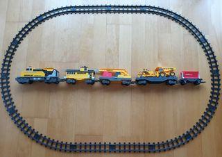 Tren de juguete eléctrico