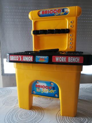 Banco de trabajo bricolaje juguete