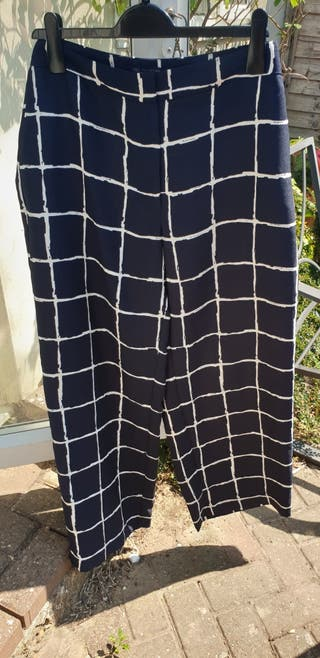 Mark's and Spencer S16 Checked Trousers