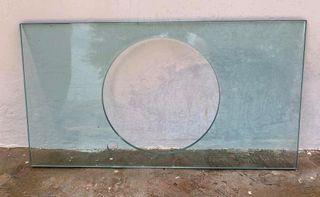 Encimeras de cristal o mármol