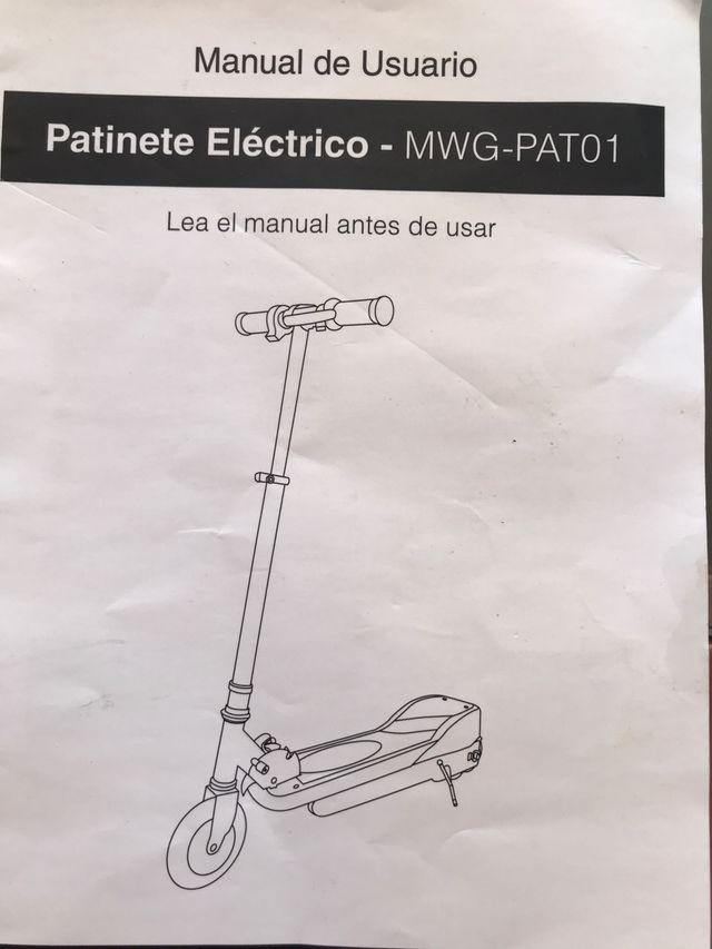 Patinete eléctrico MyWIGO MWG-PAT01