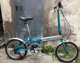 Bicicleta plegable marca Monty F18