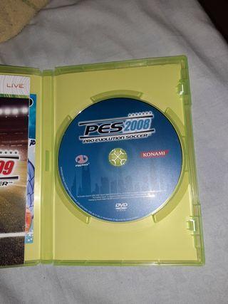 PES 2008 XBOX 360