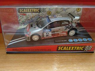 SCALEXTRIC PEUGEOT 206 WRC