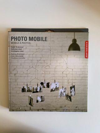 Móvil para colgar fotos
