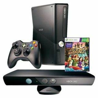 Xbox360+kinect+2mandosconcargador+2micro+19juegos