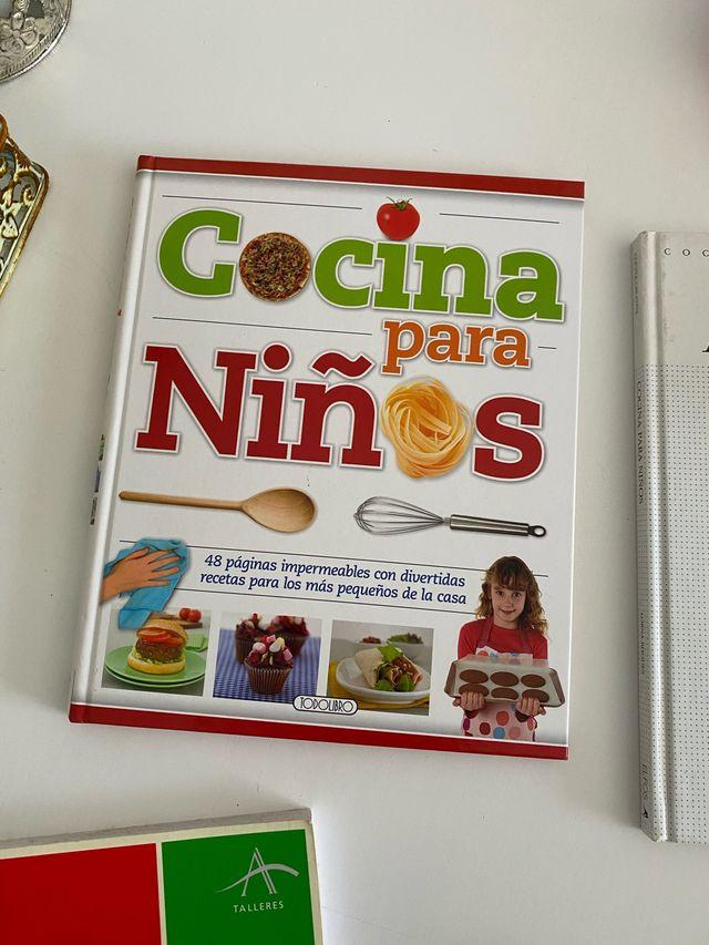 Libros de Cocina para niños