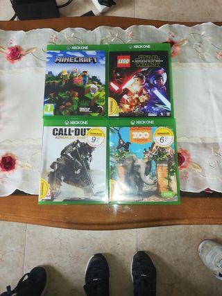 Se venden juegos de Xbox one