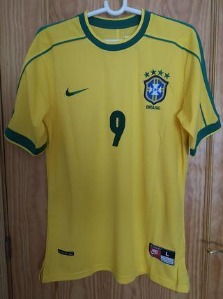 Camiseta L Brasil Ronaldo