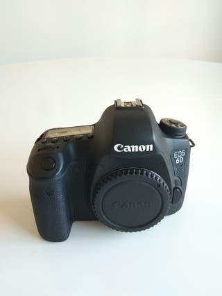 Canon 6D + 3 ópticas
