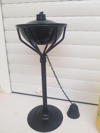 lampara,aceite portátil para jardín o terrazas