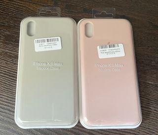Apple Logo iPhone XS Max Silicone Case