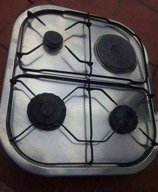 Cocina mixta gas y eléctrica