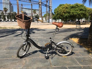 Bicicleta retro plegable Monty F-17