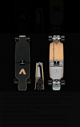 Longboard eléctrico plegable BoardUp Bolt+