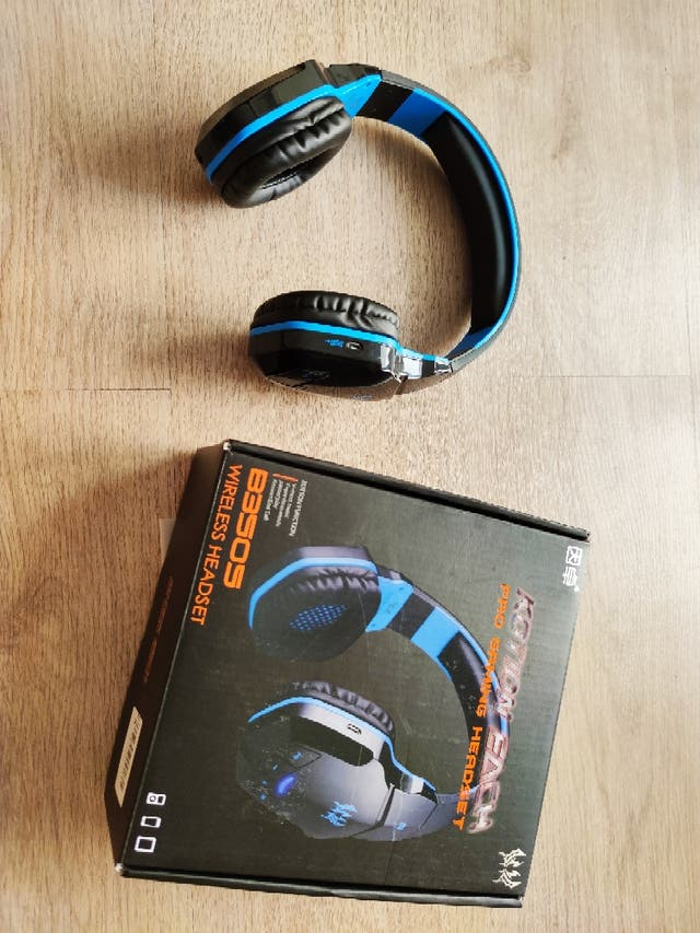 AURICULARES KOTION B3505 GAMING BLUETOOTH. PVP 25€